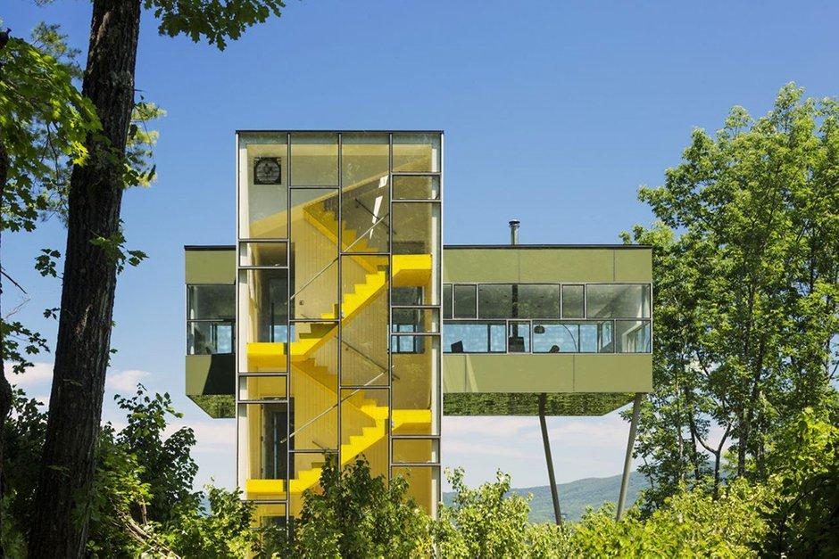 Фотография:  в стиле Современный, Дом, Дома и квартиры, Панорамные окна – фото на INMYROOM