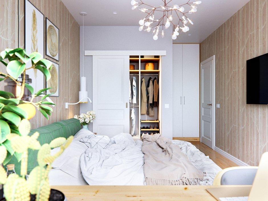 Проект перепланировки и оформления квартиры в скандинавском стиле