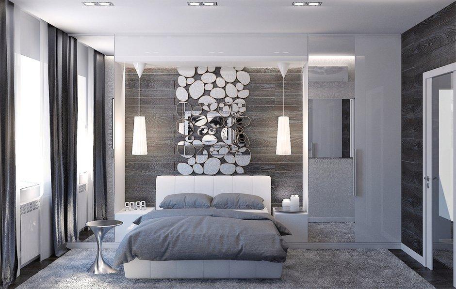 Фотография: Спальня в стиле Хай-тек, Декор интерьера, Квартира, Christopher Guy, Massive, HOFF, Дома и квартиры, IKEA, Проект недели – фото на INMYROOM