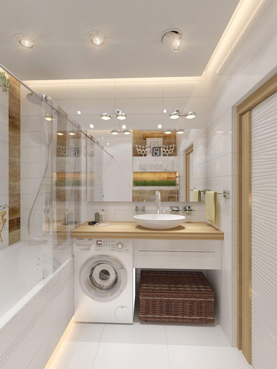 Фотография: Ванная в стиле Современный, Малогабаритная квартира, Квартира, Хранение, Мебель и свет, Дома и квартиры, Проект недели – фото на INMYROOM