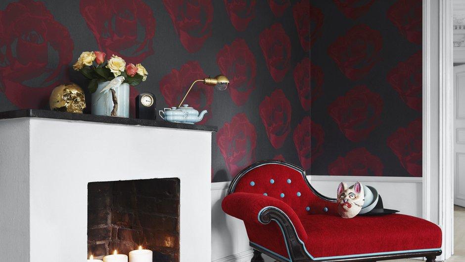 Фотография: Декор в стиле Классический, Современный, Эклектика, Декор интерьера, Дизайн интерьера, Цвет в интерьере, Обои, Стены, Эко – фото на INMYROOM