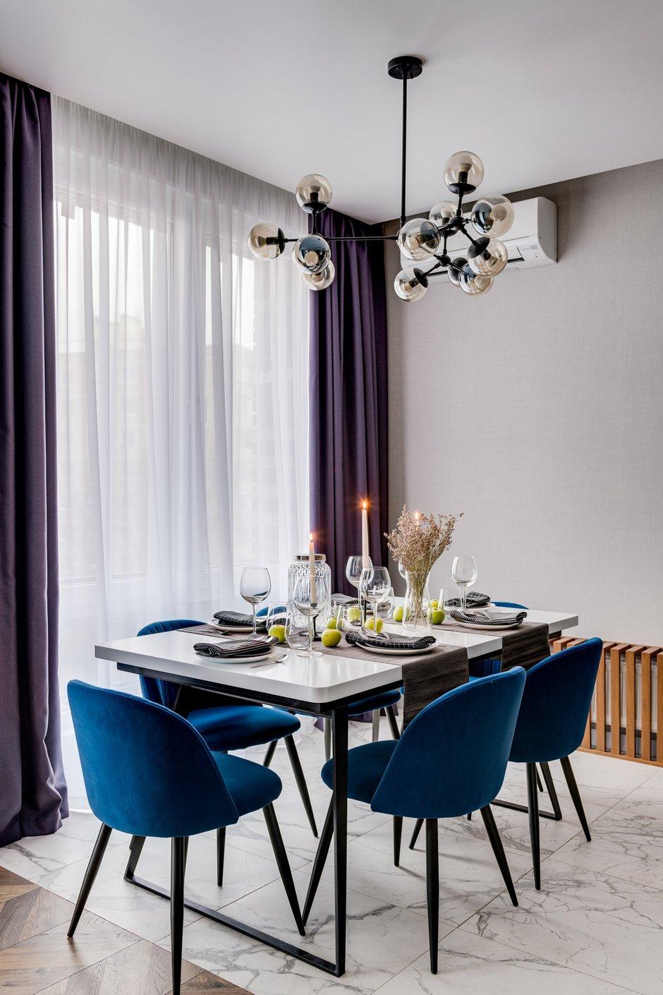 Фотография: Кухня и столовая в стиле Современный, Квартира, Проект недели, Мытищи, 4 и больше, Более 90 метров, Анна Шаповалова – фото на INMYROOM