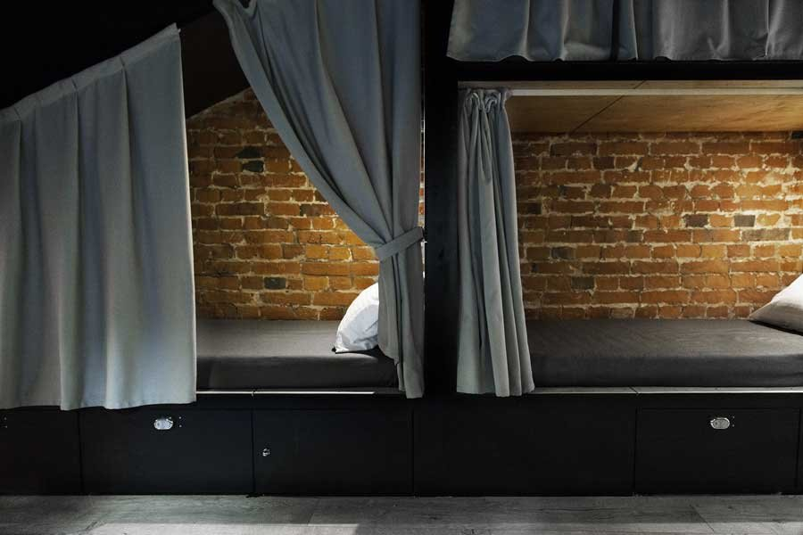 Фотография:  в стиле , Лофт, Современный, Отель, Проект недели, Черный, Москва, Красный, Дарья Назаренко – фото на INMYROOM
