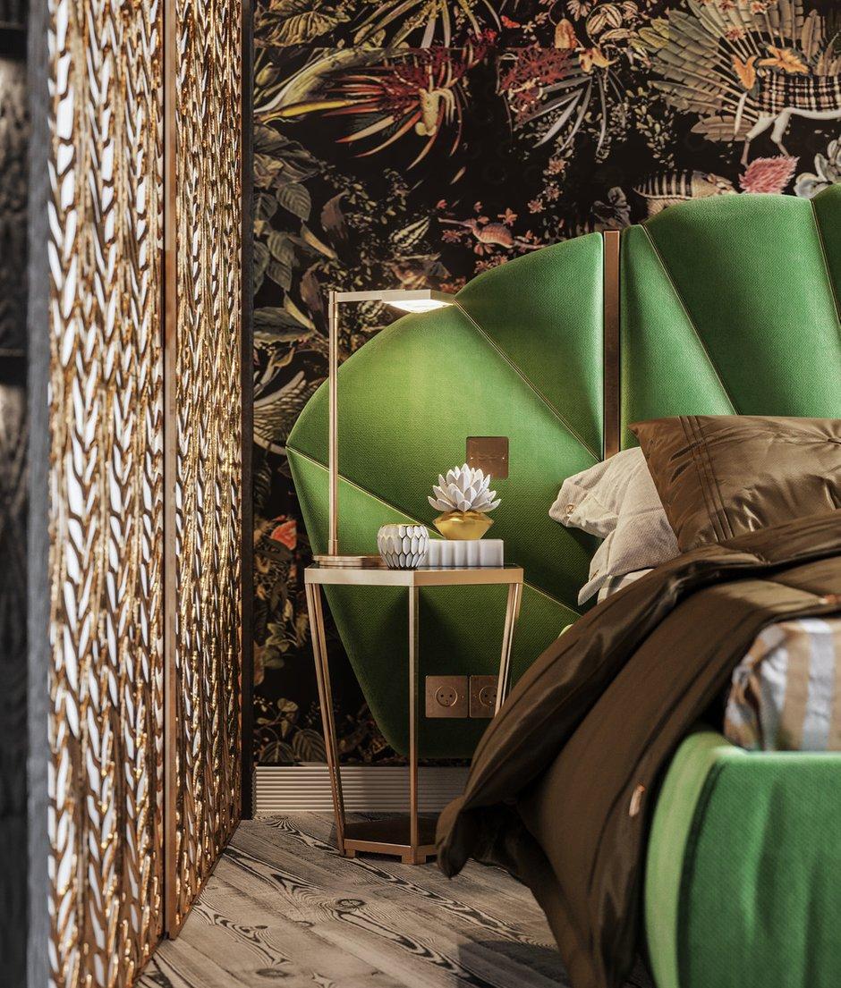 Фотография: Спальня в стиле Современный, Квартира, Проект недели, 2 комнаты, 60-90 метров, Алена Горская, Nolte, Nolte Küchen, Nolte Kuchen – фото на INMYROOM