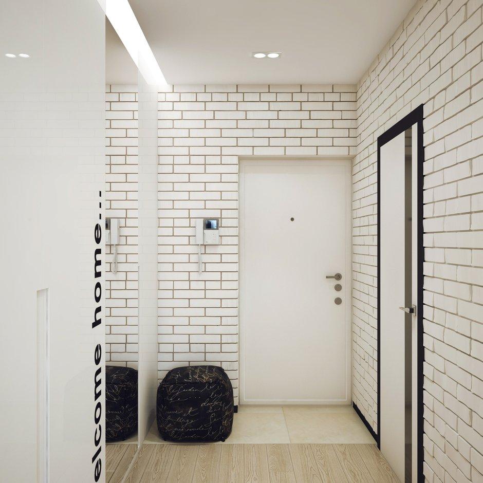 Фотография: Прихожая в стиле Лофт, Современный, Малогабаритная квартира, Квартира, Дома и квартиры, Проект недели – фото на INMYROOM
