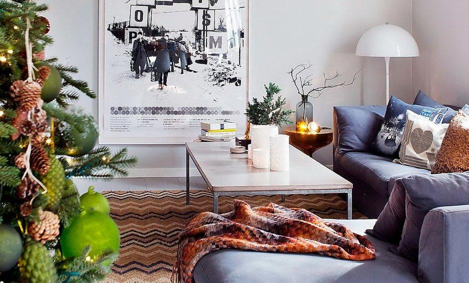 Фотография: Гостиная в стиле Скандинавский, Декор интерьера, Интерьер комнат, Проект недели – фото на INMYROOM