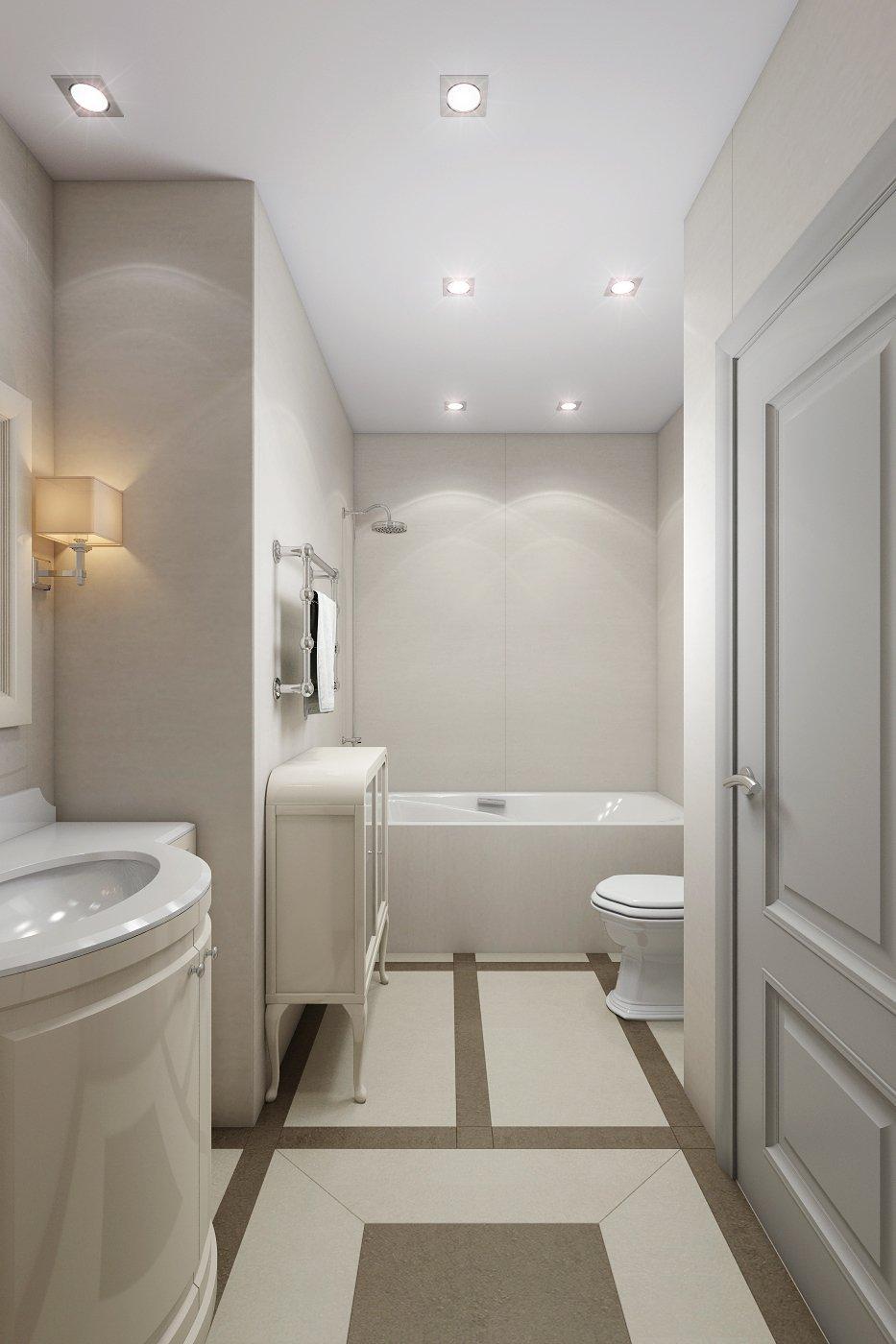 Фотография: Ванная в стиле Эклектика, Квартира, Дома и квартиры, Проект недели – фото на INMYROOM