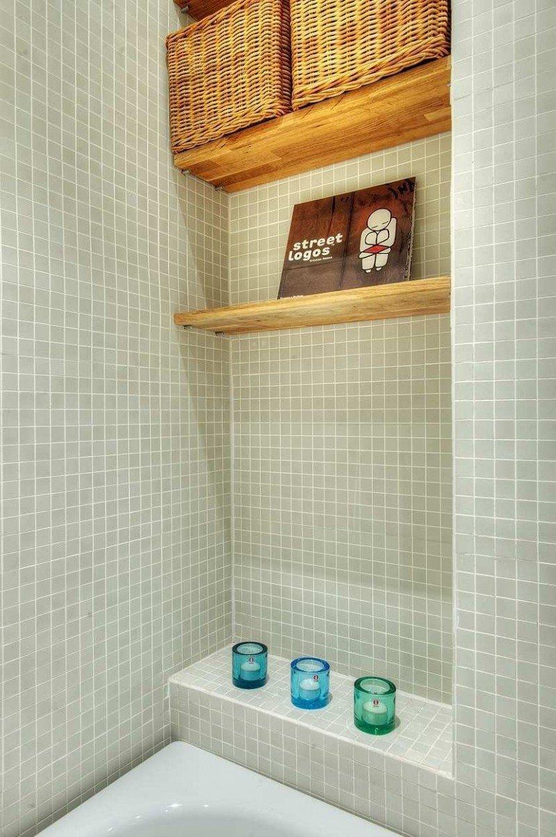 Фотография: Ванная в стиле Современный, Скандинавский, Квартира, Дома и квартиры, Стокгольм – фото на INMYROOM