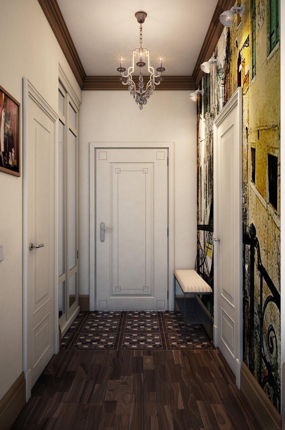 Фотография: Прихожая в стиле Прованс и Кантри, Классический, Квартира, Проект недели – фото на INMYROOM