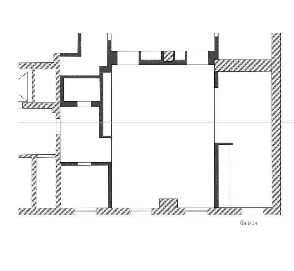 Фотография: Планировки в стиле , Лофт, Квартира, Дома и квартиры, Минимализм – фото на INMYROOM