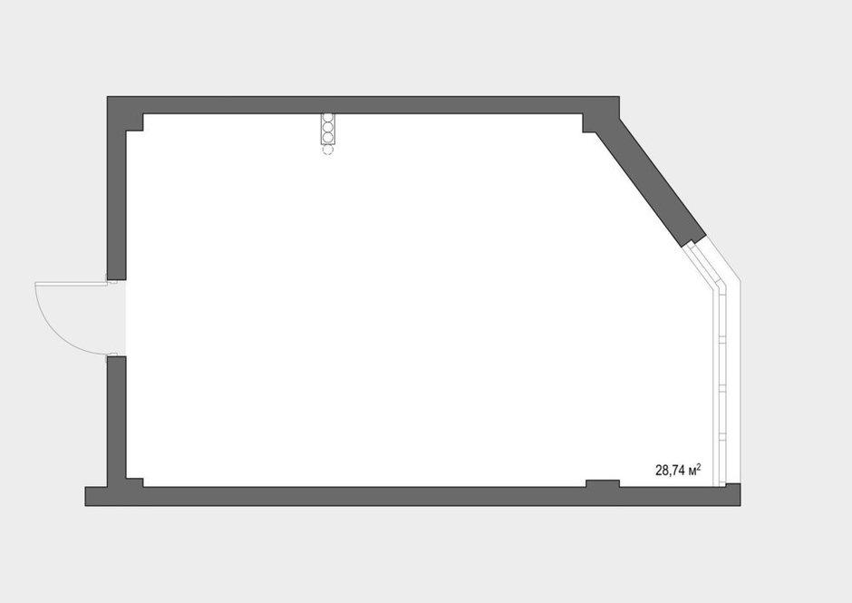 Фотография:  в стиле , Квартира, Студия, Перепланировка, Сочи, Алена Тимонина, Андрей Тимонин, до 40 метров – фото на INMYROOM
