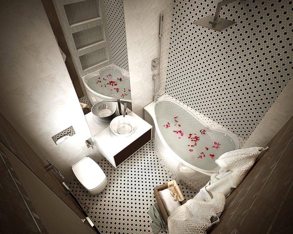 Фотография:  в стиле , Квартира, Минимализм, Проект недели, Катерина Бачурина – фото на INMYROOM