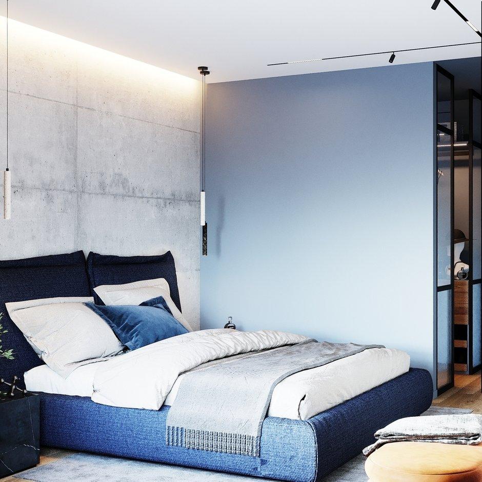 Фотография: Спальня в стиле Лофт, Современный, Квартира, Проект недели, Москва, 4 и больше, Более 90 метров, Студия 20:18 – фото на INMYROOM
