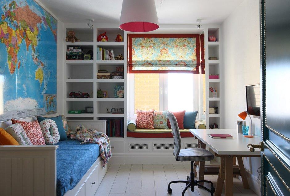 Фотография: Детская в стиле Скандинавский, Эклектика, Квартира, Проект недели – фото на INMYROOM