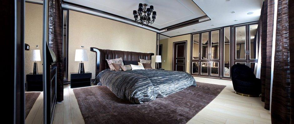 Фотография: Спальня в стиле Эклектика, Квартира, Дома и квартиры, Ар-деко, Неоклассика – фото на INMYROOM