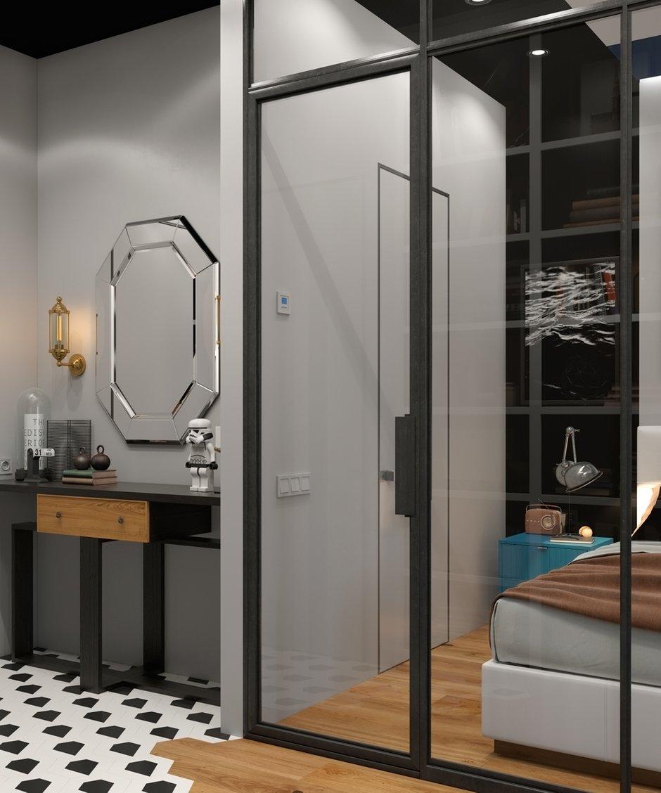 Фотография:  в стиле , Квартира, Проект недели, Санкт-Петербург, 1 комната, 40-60 метров, Монолитно-кирпичный, Дмитрий Кирсанов – фото на INMYROOM