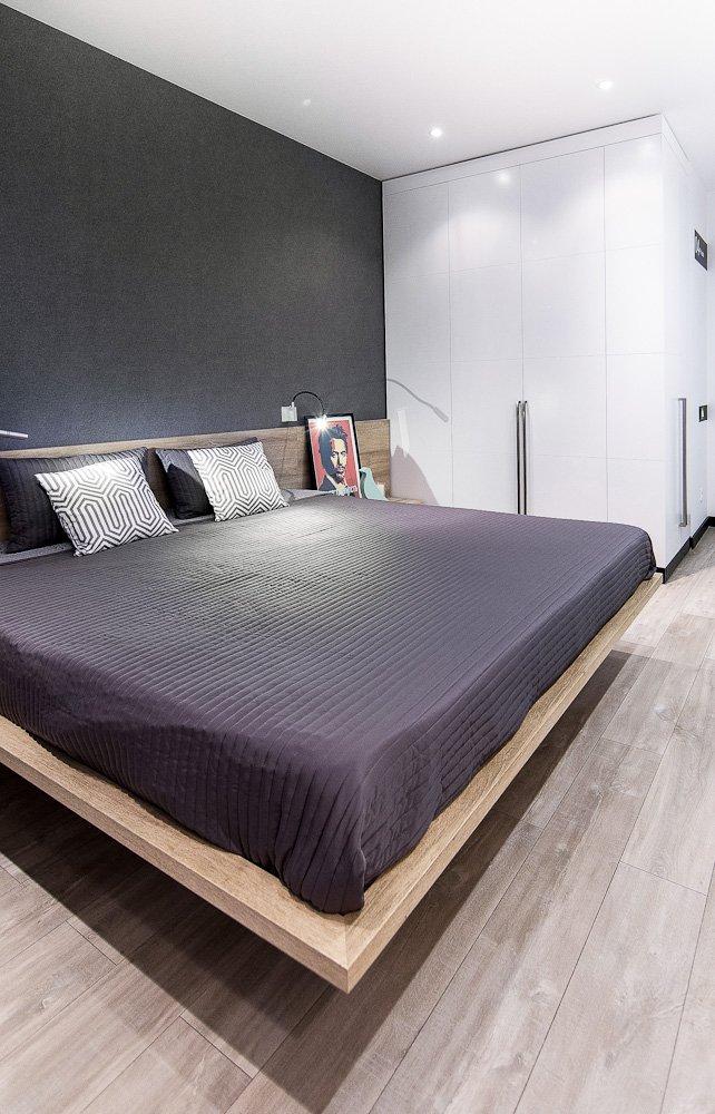 Фотография: Спальня в стиле Лофт, Современный, Квартира, Дома и квартиры, IKEA, Минимализм, Проект недели – фото на INMYROOM