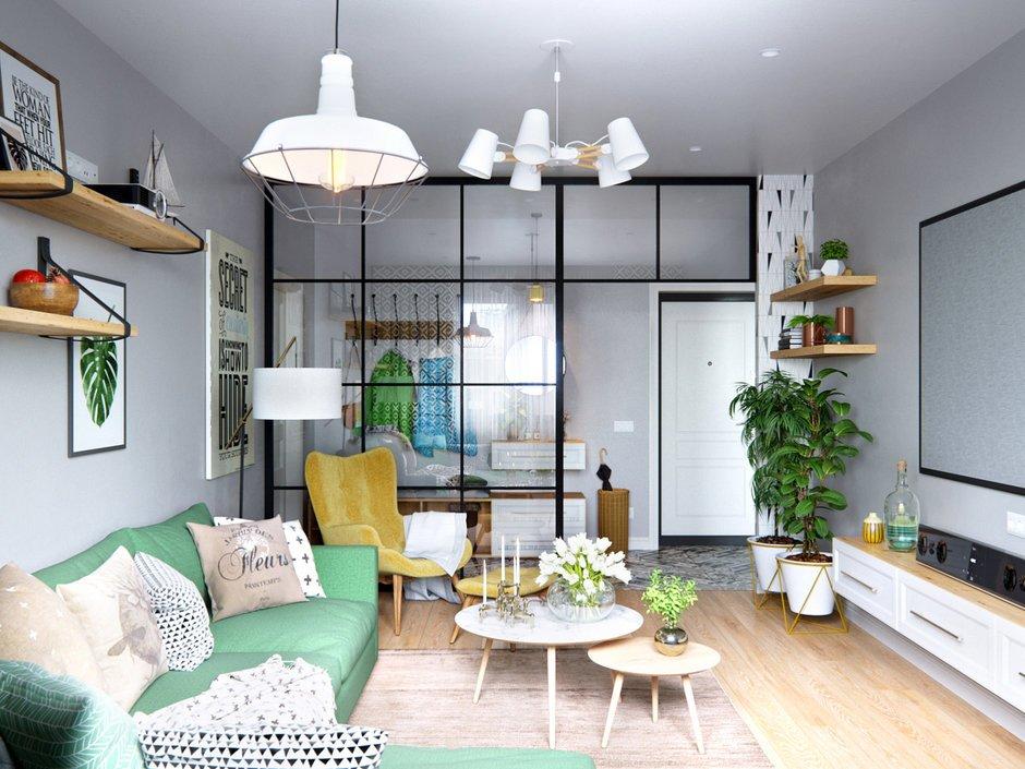 Фотография: Гостиная в стиле Скандинавский, Современный, Декор интерьера, Карта покупок, #хочумогу – фото на INMYROOM