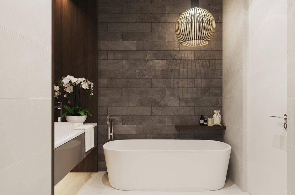 Фотография: Ванная в стиле Лофт, Современный, Квартира, Минимализм, Проект недели – фото на INMYROOM