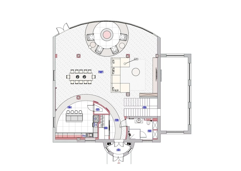 Фотография: Планировки в стиле , Современный, Дом, Проект недели, Дом и дача, 4 и больше, Более 90 метров, Алиса Свистунова, Bon-Ton – фото на INMYROOM