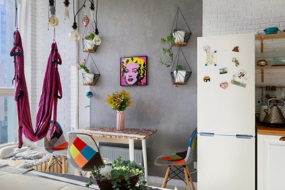 Фотография:  в стиле , Кухня и столовая, Гостиная, Декор интерьера, LEGO, арт-наборы от Lego, мозаики LEGO – фото на INMYROOM