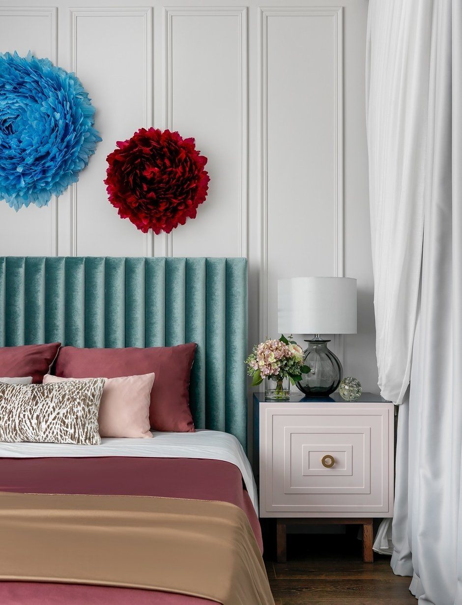 Фотография: Спальня в стиле Современный, Квартира, Проект недели, Москва, Монолитный дом, 1 комната, 40-60 метров, Серж Махов – фото на INMYROOM