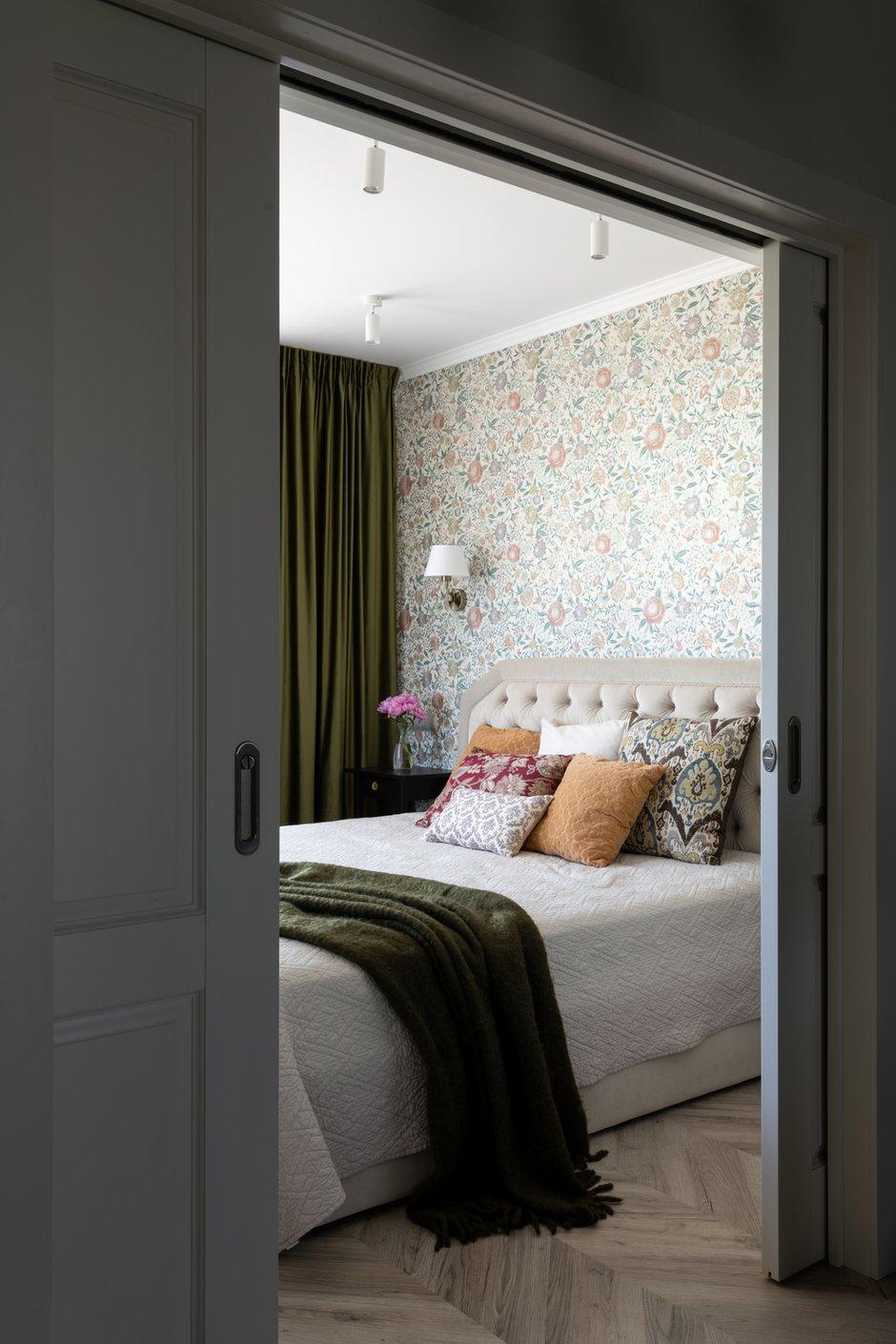 Фотография: Спальня в стиле Современный, Квартира, Проект недели, Москва, 4 и больше, Более 90 метров, Мария Гульбекян – фото на INMYROOM