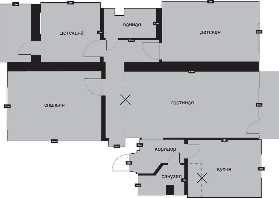 Фотография: Планировки в стиле , Скандинавский, Эклектика, Квартира, Дома и квартиры, IKEA – фото на INMYROOM