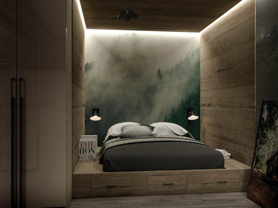 Фотография: Спальня в стиле Современный, Минимализм, Студия, Проект недели, Москва, до 40 метров, Konceptimo – фото на INMYROOM
