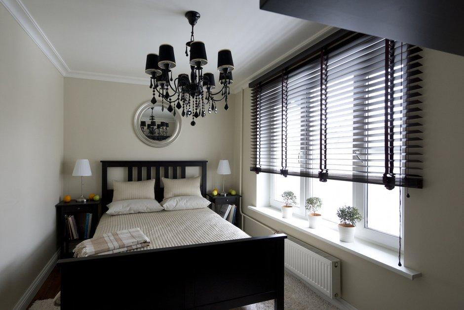 Фотография: Спальня в стиле Эклектика, Современный, Малогабаритная квартира, Квартира, Дома и квартиры – фото на INMYROOM