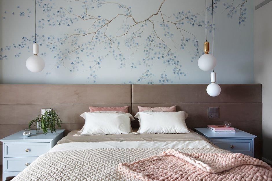 Фотография: Спальня в стиле Современный, Квартира, Проект недели, 3 комнаты, Более 90 метров, Владивосток, Miyao Studio – фото на INMYROOM