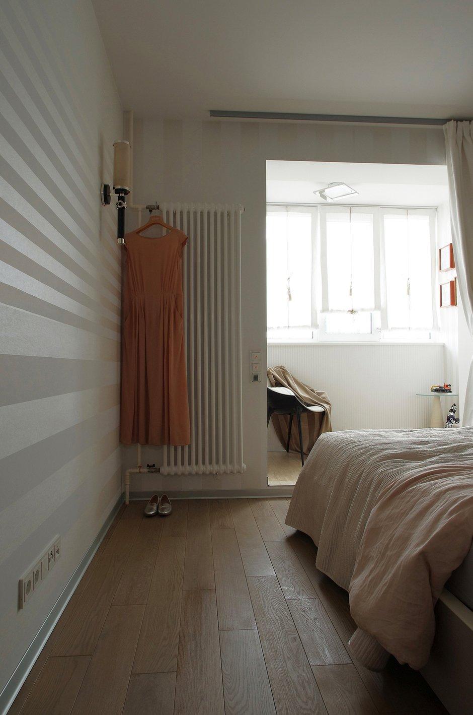 Фотография: Спальня в стиле Современный, Квартира, Проект недели, Москва, Панельный дом, Светлана Бородулина, 2 комнаты, 60-90 метров – фото на InMyRoom.ru