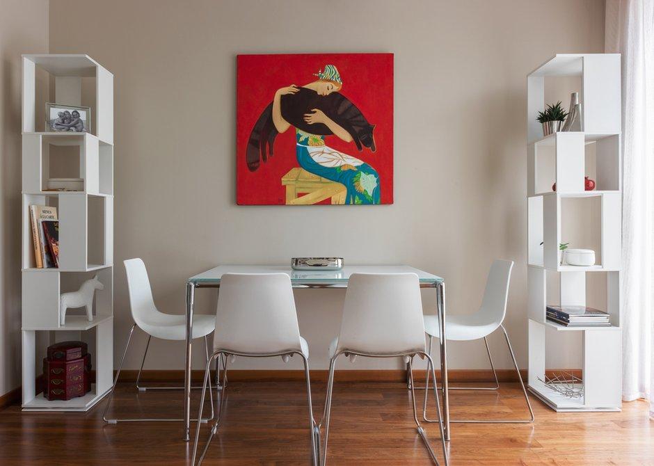 Фотография: Кухня и столовая в стиле Современный, Квартира, Минимализм, Проект недели, Михаил Новинский, Кирпичный дом, 3 комнаты, 60-90 метров, Патриаршие пруды – фото на INMYROOM