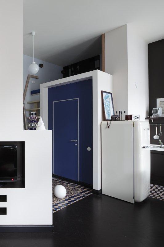 Фотография: Кухня и столовая в стиле , Малогабаритная квартира, Квартира, Студия, Дома и квартиры, Проект недели – фото на InMyRoom.ru
