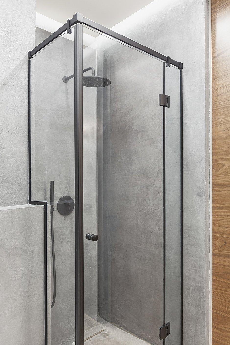 Фотография: Ванная в стиле Современный, Лофт, Студия, Проект недели, Мария Полянская – фото на INMYROOM