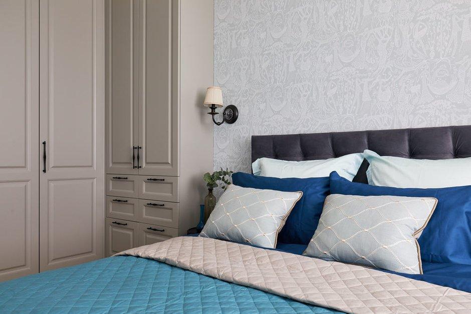 Фотография: Спальня в стиле Современный, Квартира, Проект недели, Долгопрудный, 4 и больше, Более 90 метров, Марина Каралкина – фото на INMYROOM