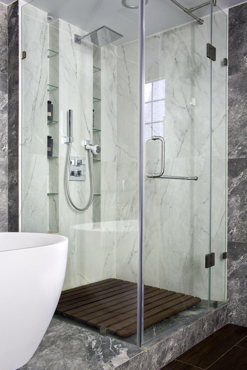 Фотография: Ванная в стиле Современный, Лофт, Квартира, Проект недели, Пентхаус, 4 и больше, Более 90 метров, Владивосток, #эксклюзивныепроекты, Miyao Studio – фото на INMYROOM