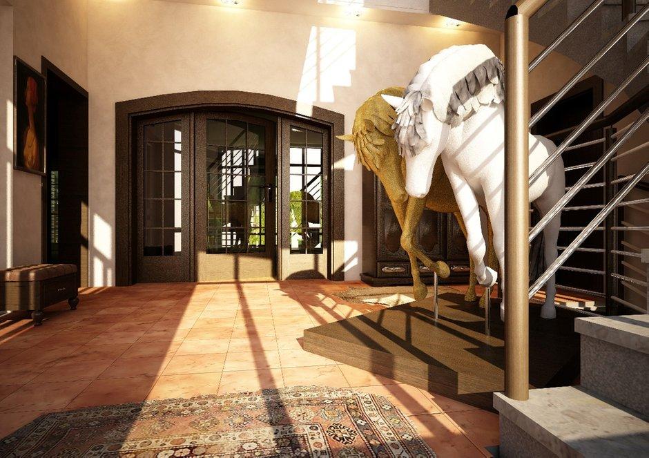 Фотография: Прихожая в стиле , Дом, Дома и квартиры, Проект недели, Современное искусство – фото на INMYROOM