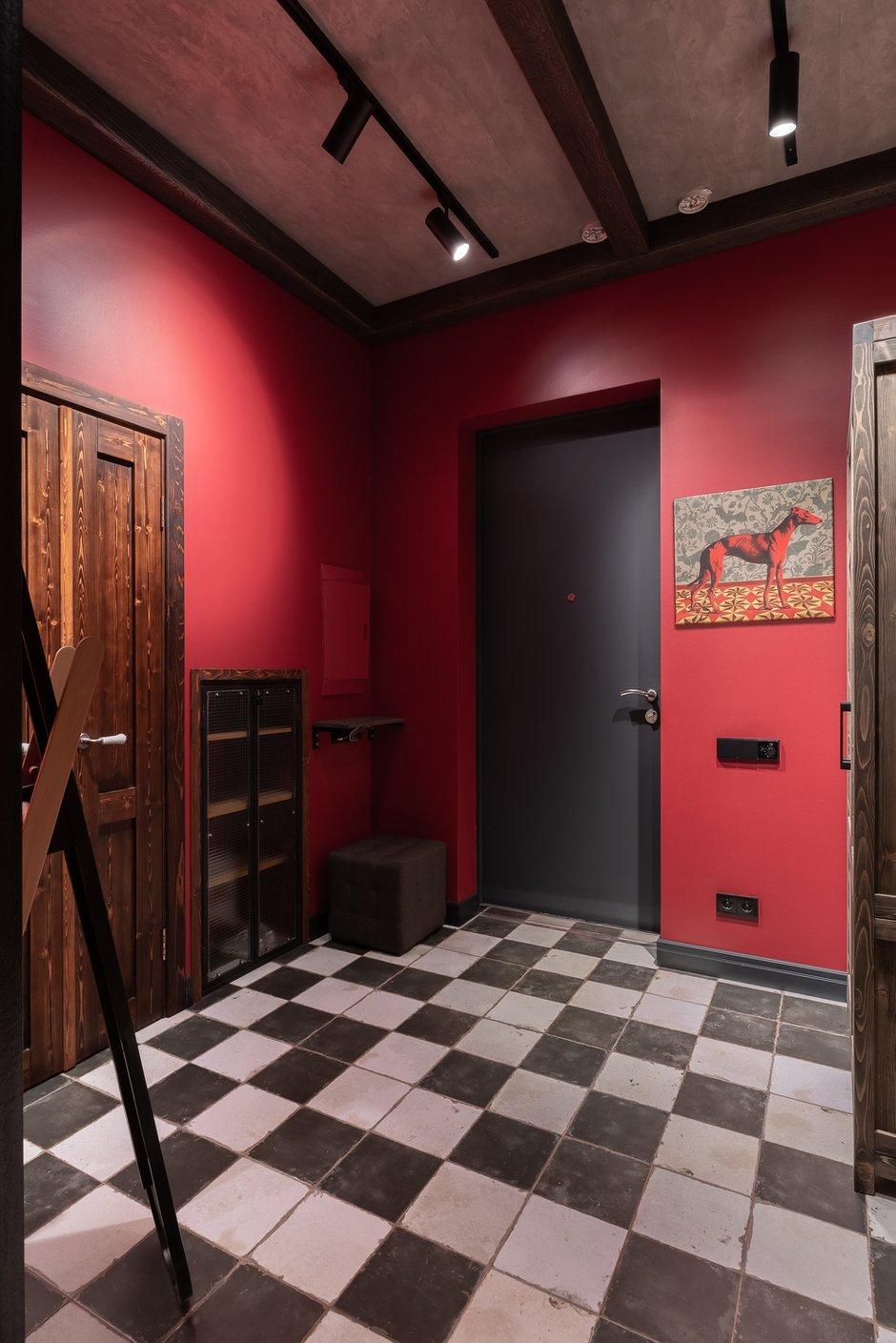 Фотография: Прихожая в стиле Лофт, Квартира, Студия, Перепланировка, VizDiz – фото на INMYROOM