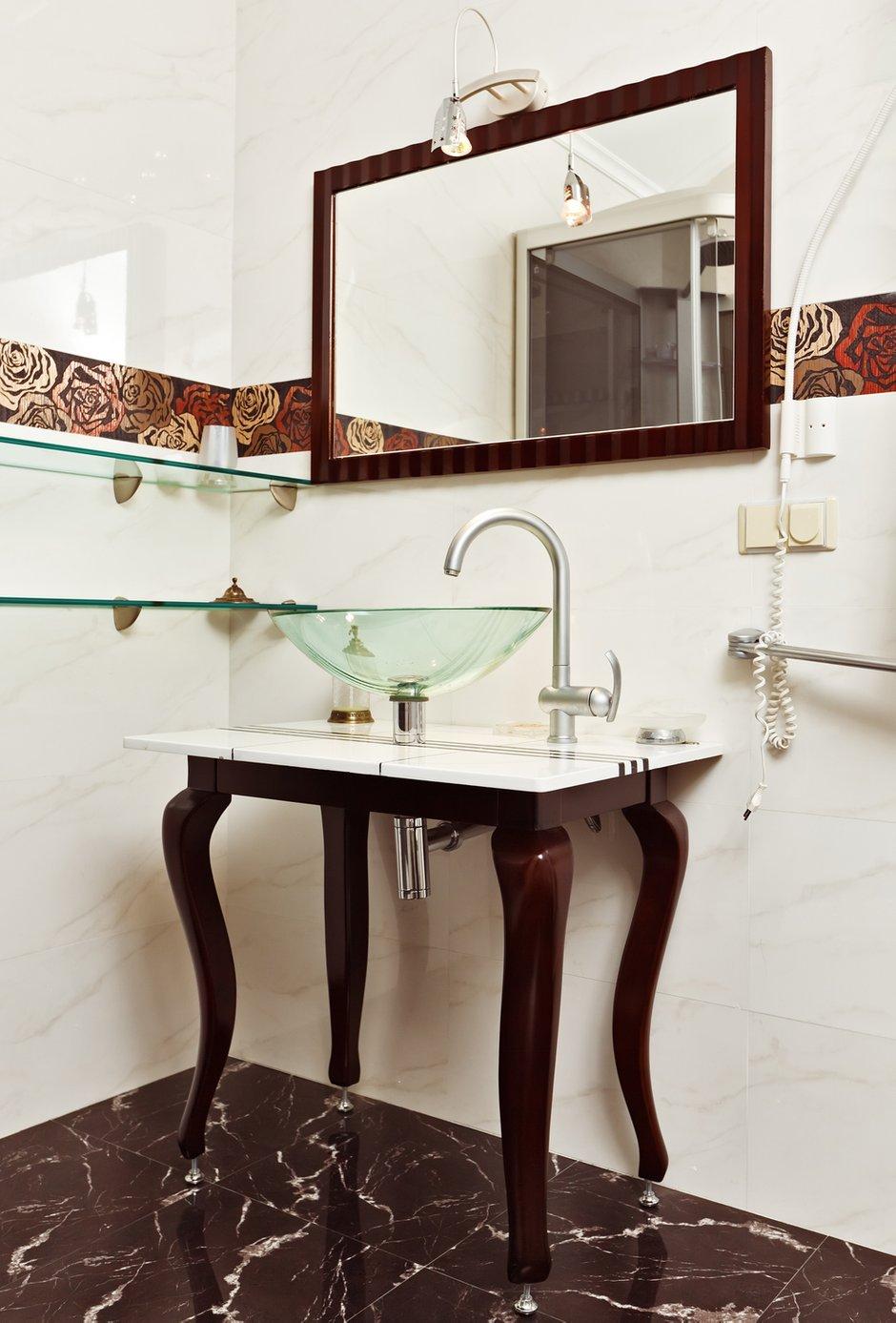 Фотография: Ванная в стиле Классический, Современный, Декор интерьера, Квартира, Дом, Интерьер комнат – фото на INMYROOM