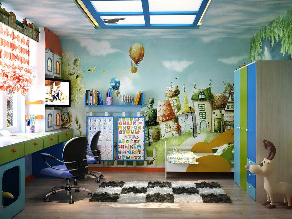 Фотография: Детская в стиле Современный, Декор интерьера, Дом, Декор, Цвет в интерьере, Дома и квартиры, Средиземноморский, Греция – фото на INMYROOM