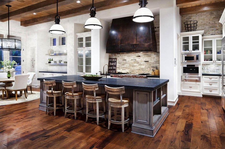 Фотография: Кухня и столовая в стиле Прованс и Кантри, Современный, Классический, Дом, Дома и квартиры, Шебби-шик, Индустриальный, Техас – фото на INMYROOM