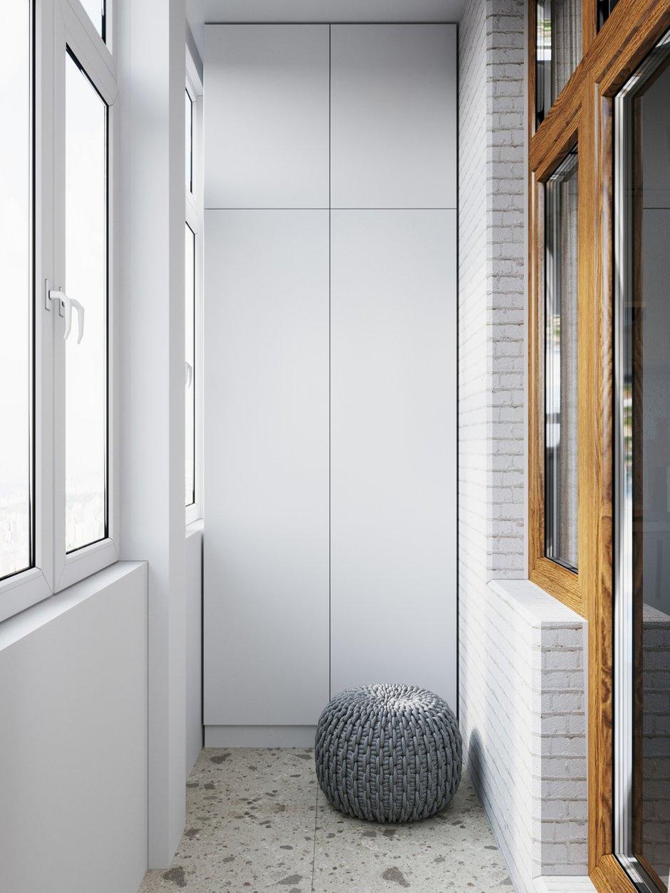 Фотография: Балкон в стиле Современный, Квартира, Студия, Проект недели, Красногорск, до 40 метров, Мария Синельникова – фото на INMYROOM