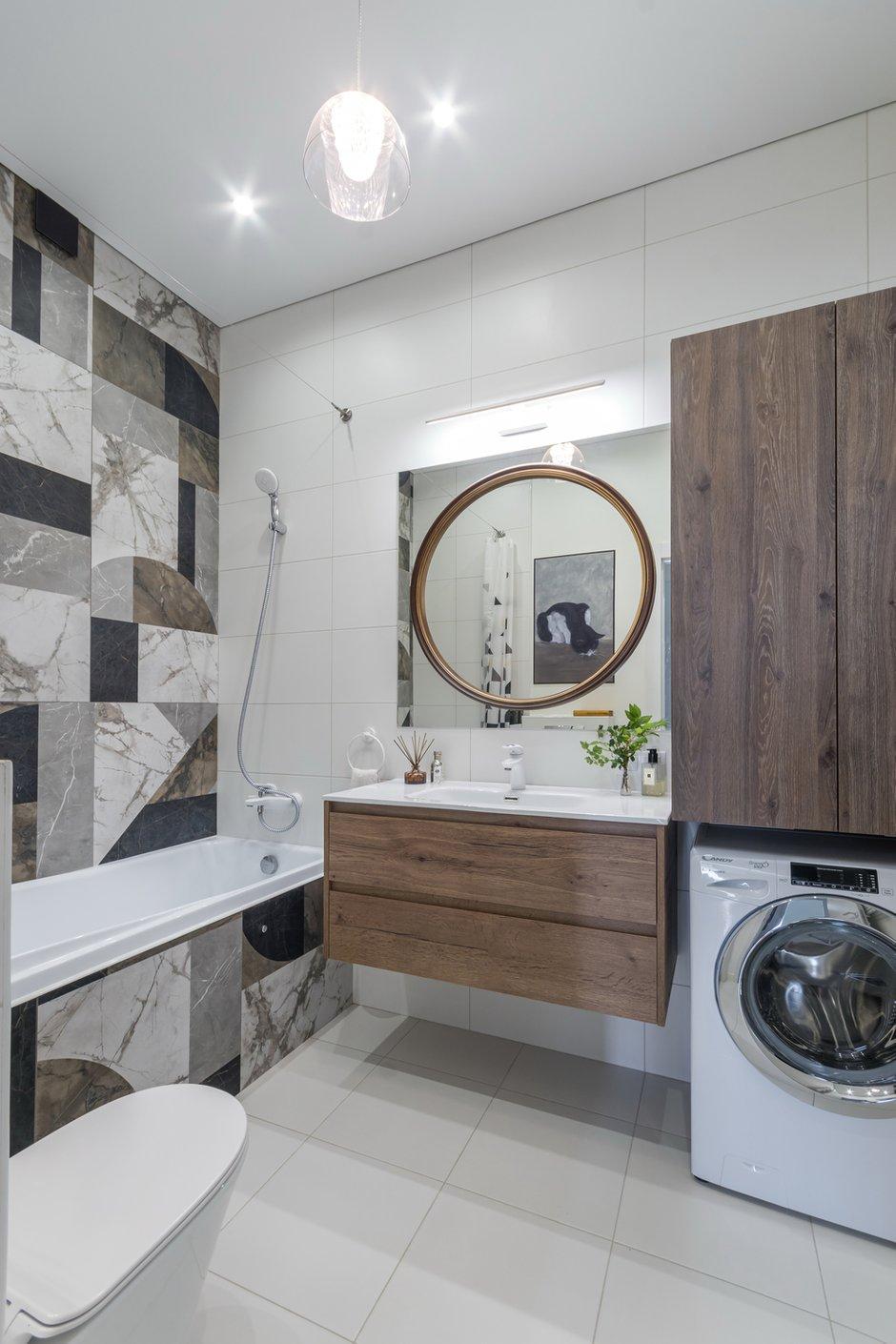 Фотография: Ванная в стиле Современный, Квартира, Проект недели, Москва, 2 комнаты, 40-60 метров, Александра Частова – фото на INMYROOM