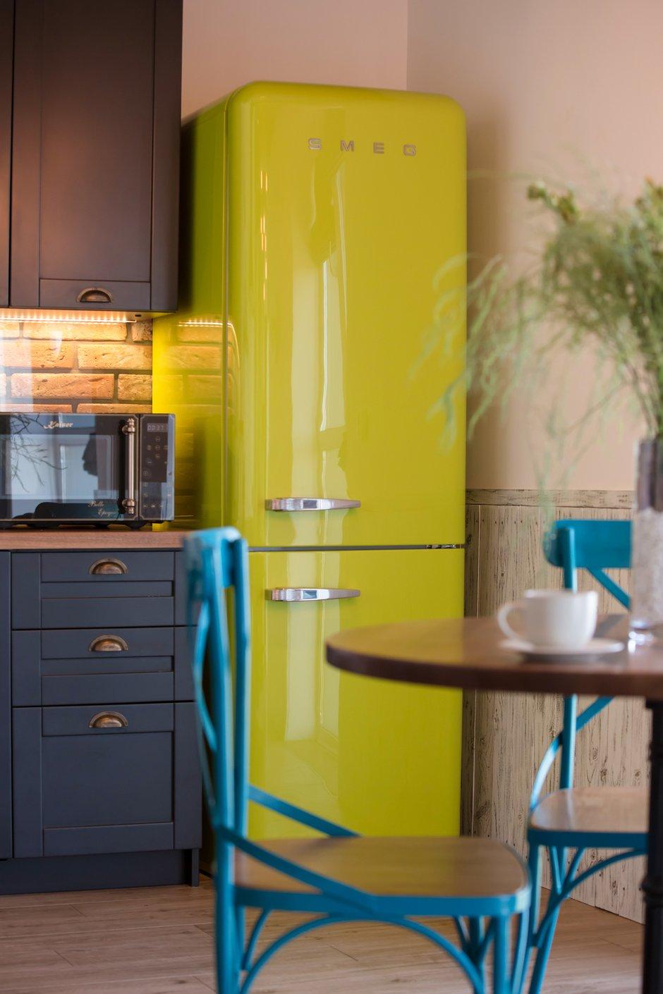 Фотография: Кухня и столовая в стиле Лофт, Квартира, Украина, Проект недели, Монолитный дом, 3 комнаты, 60-90 метров, Роман Луценко, Днепр – фото на INMYROOM