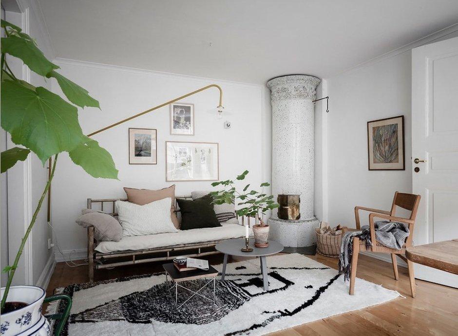 Фотография: Гостиная в стиле Скандинавский, Швеция, Гид, скандинавский стиль в интерьере – фото на INMYROOM