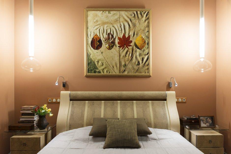 Фотография: Спальня в стиле Современный, Классический, Проект недели, Москва, Ирина Ковылина, 3 комнаты, Более 90 метров – фото на INMYROOM