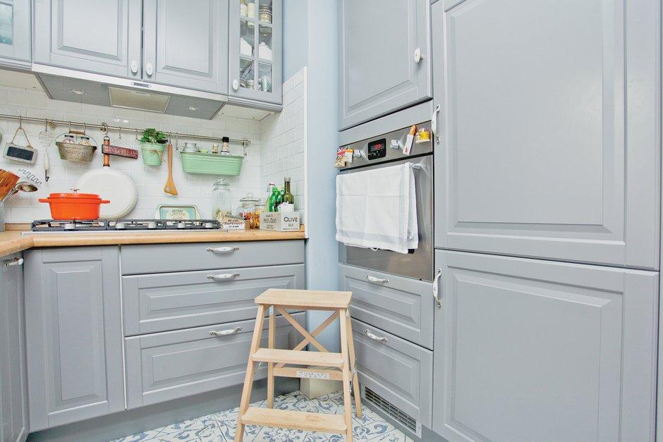 Фотография: Кухня и столовая в стиле Прованс и Кантри, Квартира, Дома и квартиры, IKEA – фото на INMYROOM