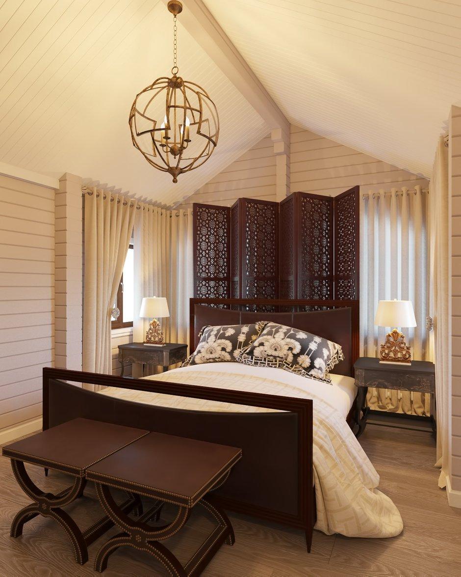 Фотография: Спальня в стиле Восточный, Дом, Проект недели, Дом и дача – фото на INMYROOM