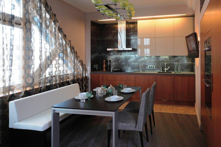 Фотография: Кухня и столовая в стиле Современный, Квартира, Дома и квартиры, Москва, Фьюжн – фото на INMYROOM